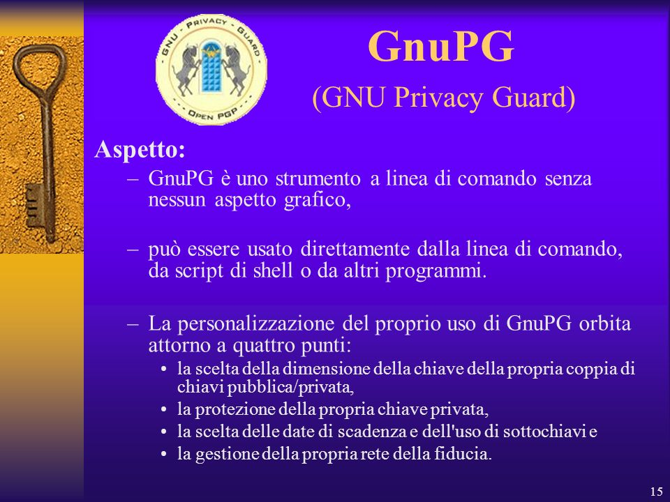 GnuPG (GNU Privacy Guard)