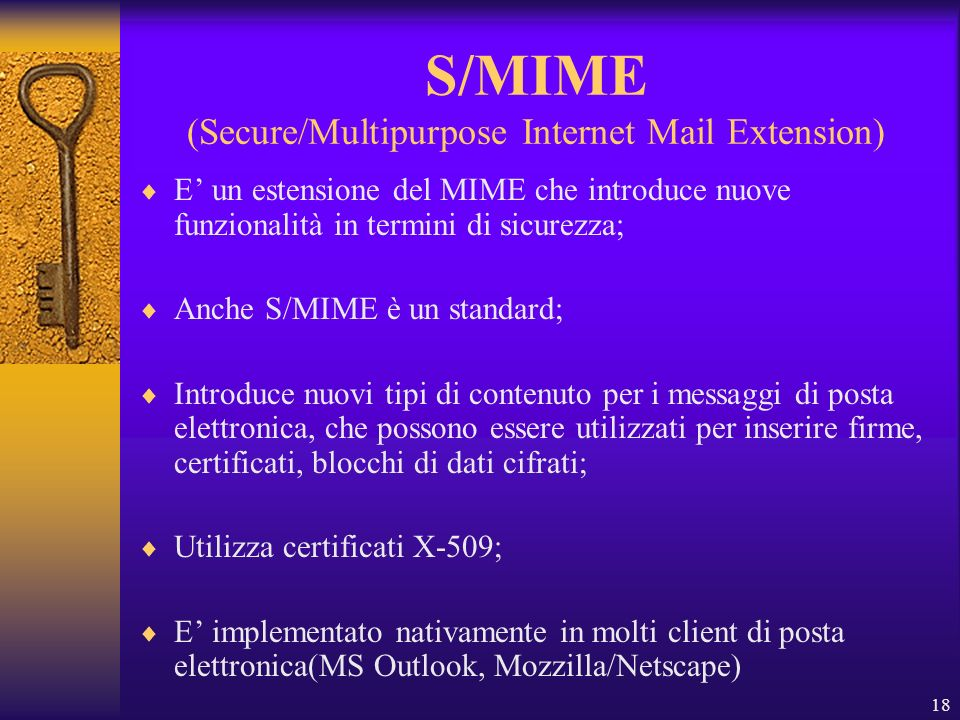 S/MIME (Secure/Multipurpose Internet Mail Extension)