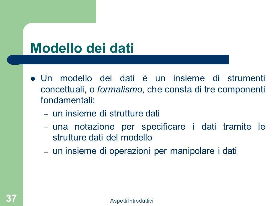Basi di dati barbara catania aspetti introduttivi ppt for Mobilia e un insieme di