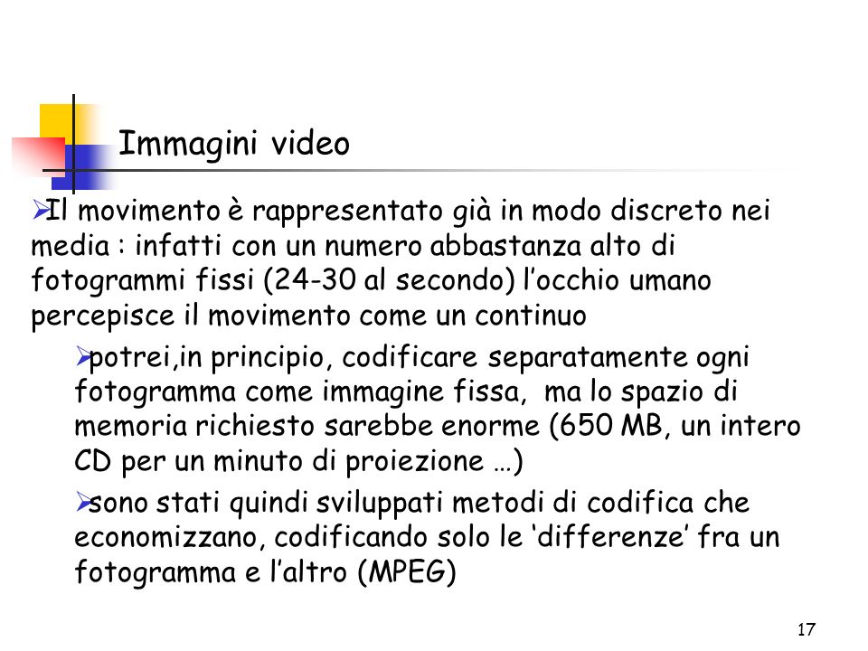 Immagini video