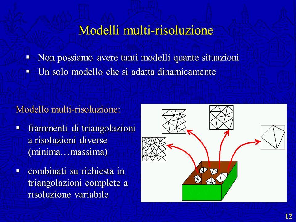 Modelli multi-risoluzione