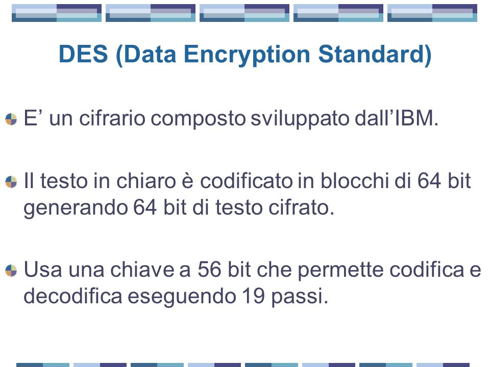 DES (Data Encryption Standard)