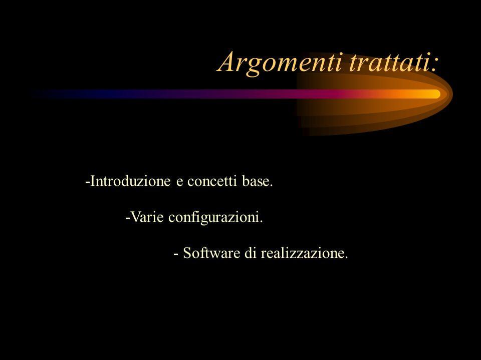 Argomenti trattati: -Introduzione e concetti base.