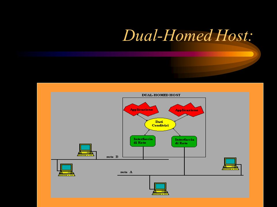 Dual-Homed Host: