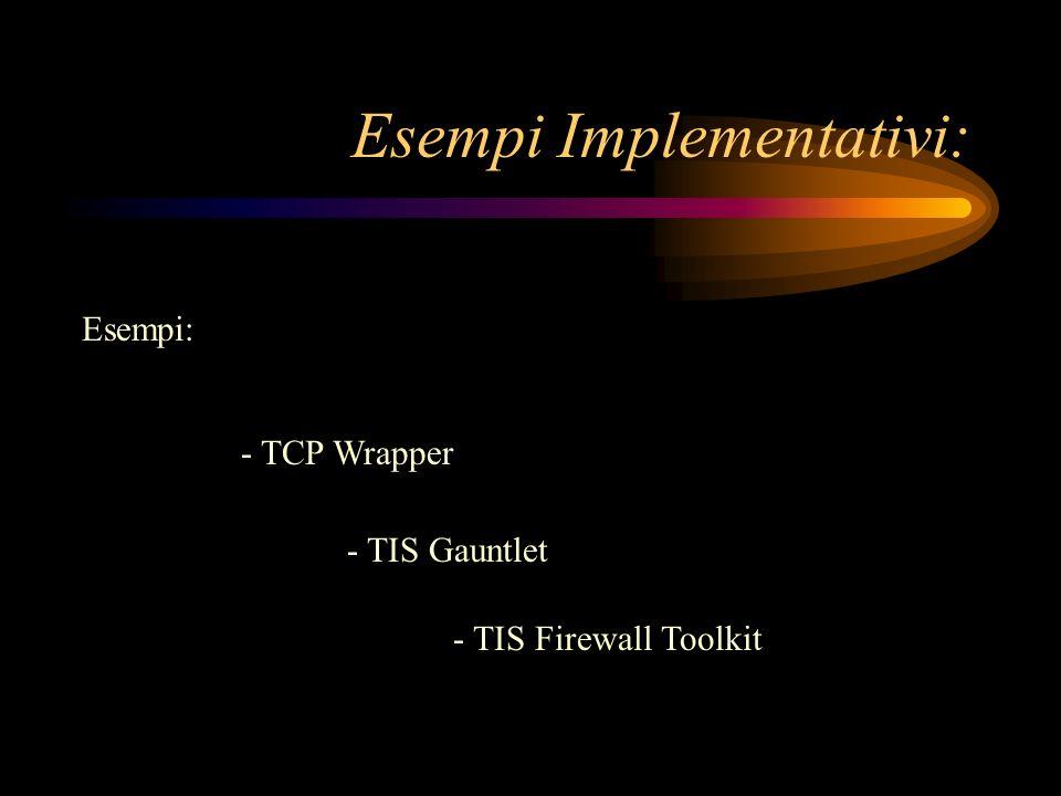 Esempi Implementativi: