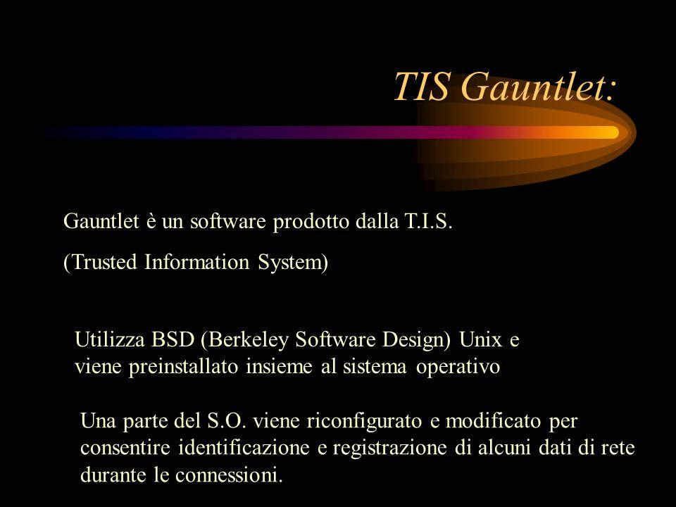TIS Gauntlet: Gauntlet è un software prodotto dalla T.I.S.
