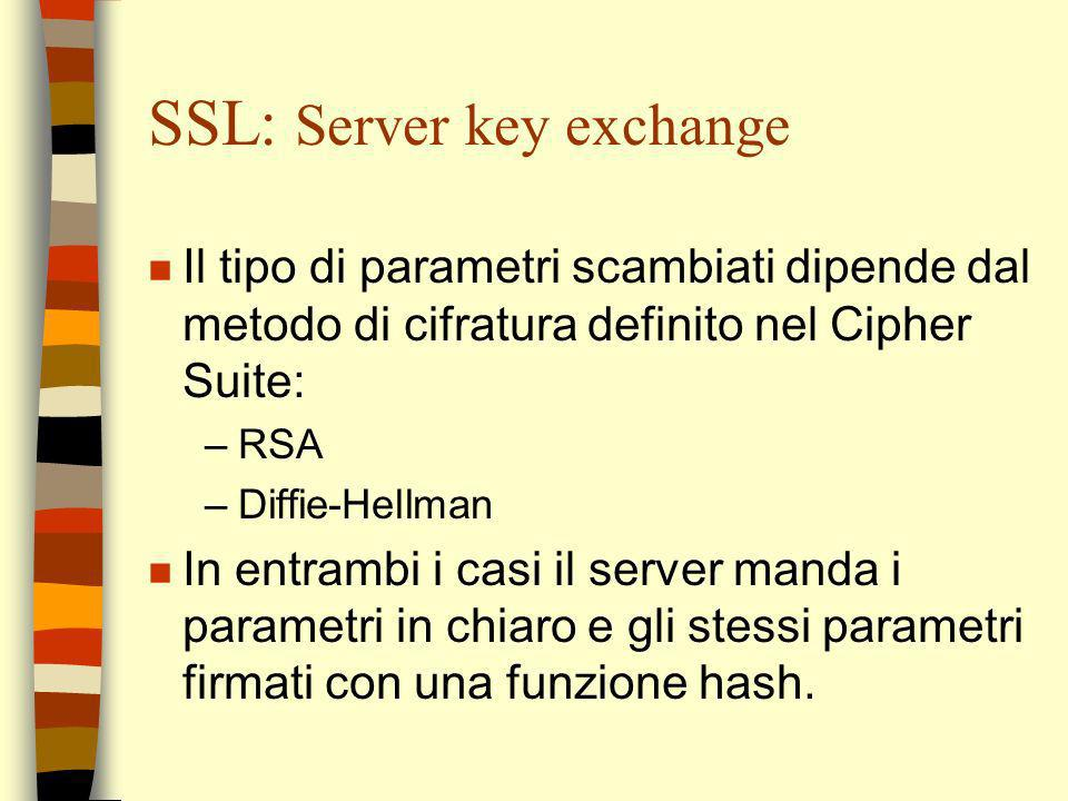 SSL: Server key exchange