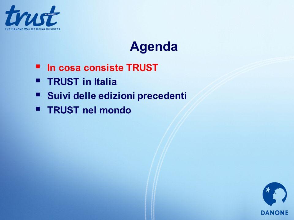 Agenda In cosa consiste TRUST TRUST in Italia