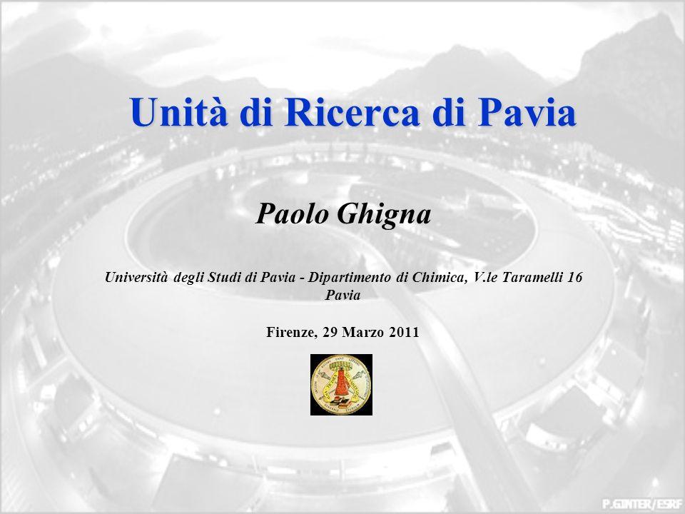 Unità di Ricerca di Pavia