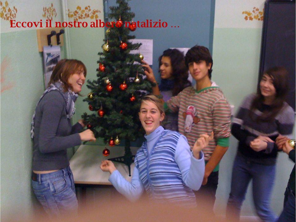Eccovi il nostro albero natalizio …
