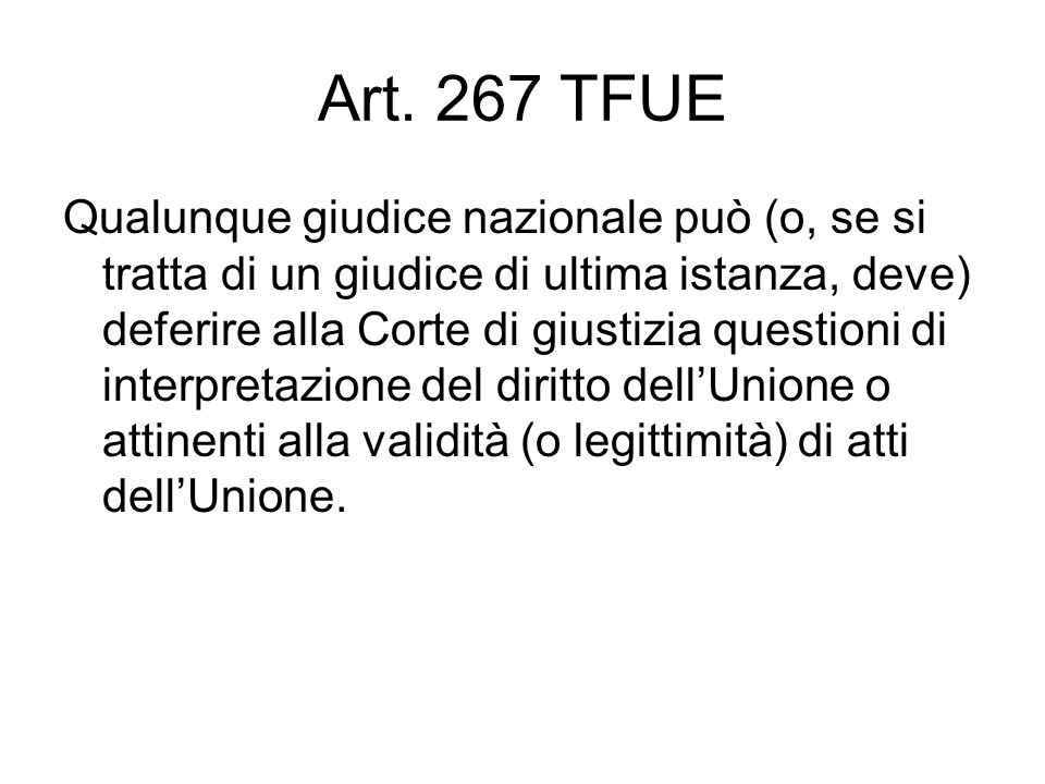 Art. 267 TFUE