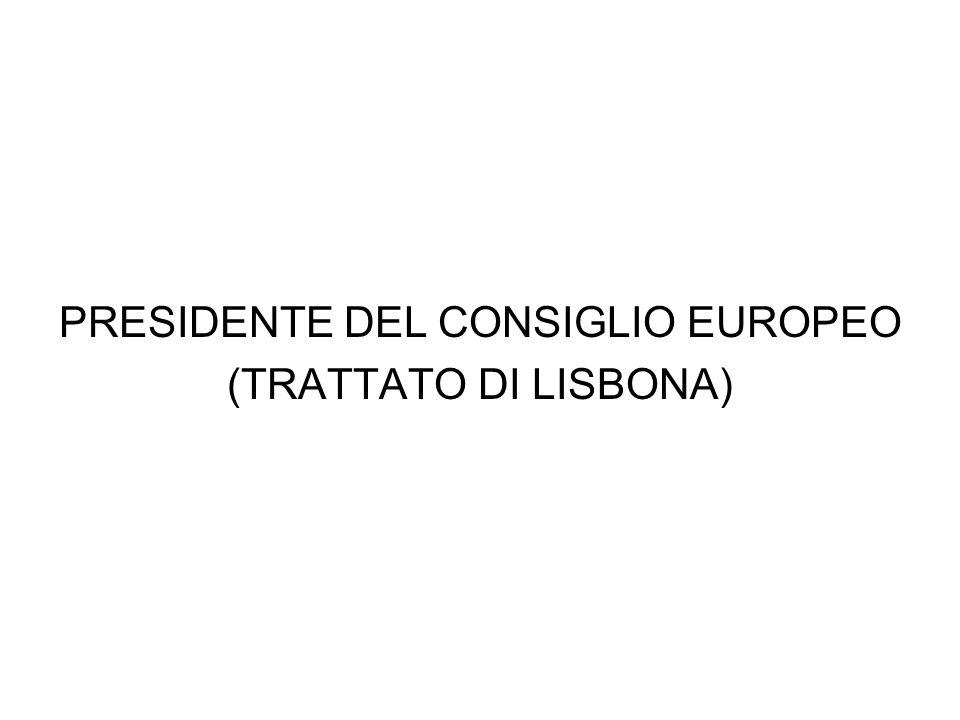 PRESIDENTE DEL CONSIGLIO EUROPEO