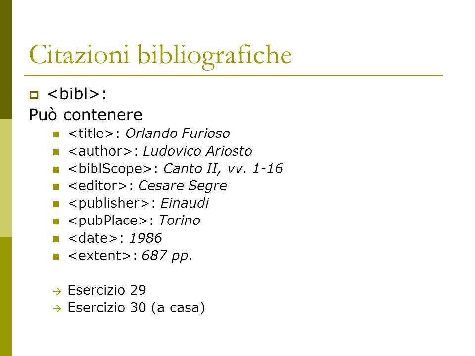 Citazioni bibliografiche