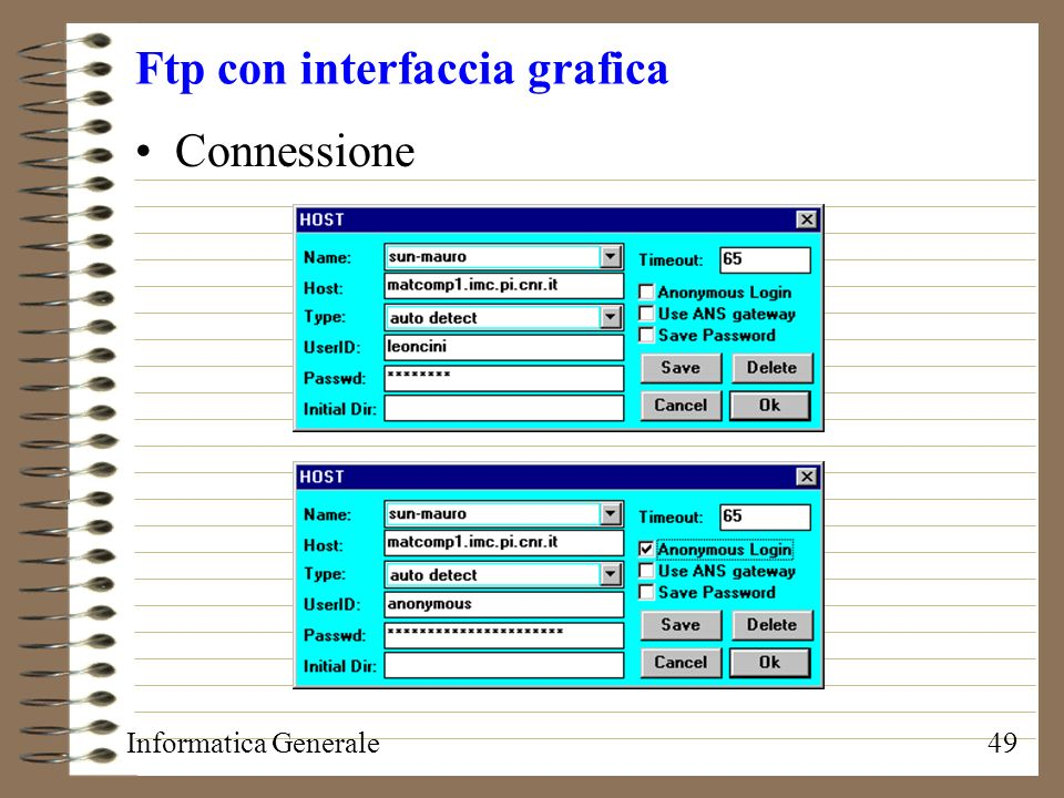 Ftp con interfaccia grafica