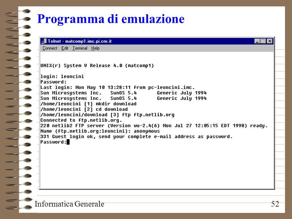 Programma di emulazione