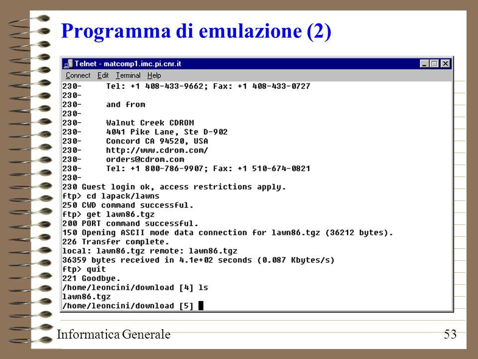 Programma di emulazione (2)