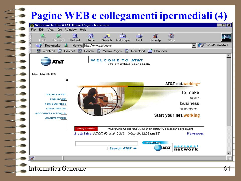 Pagine WEB e collegamenti ipermediali (4)