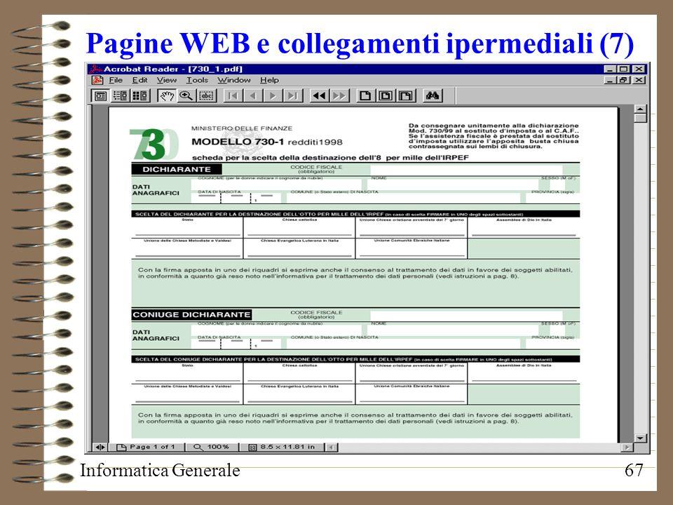 Pagine WEB e collegamenti ipermediali (7)