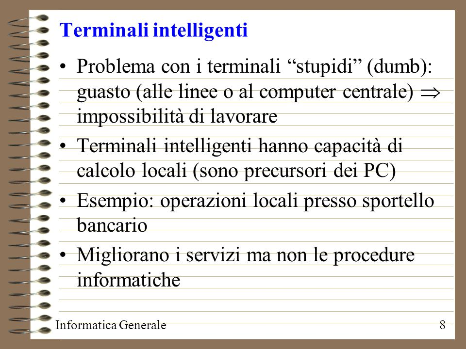 Terminali intelligenti