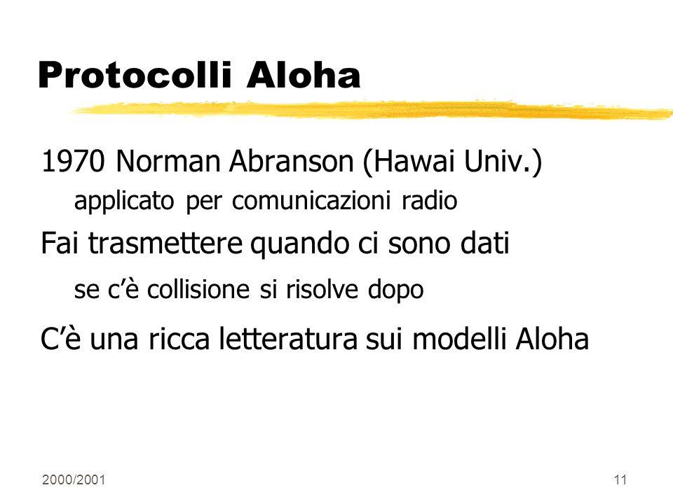 Protocolli Aloha 1970 Norman Abranson (Hawai Univ.)