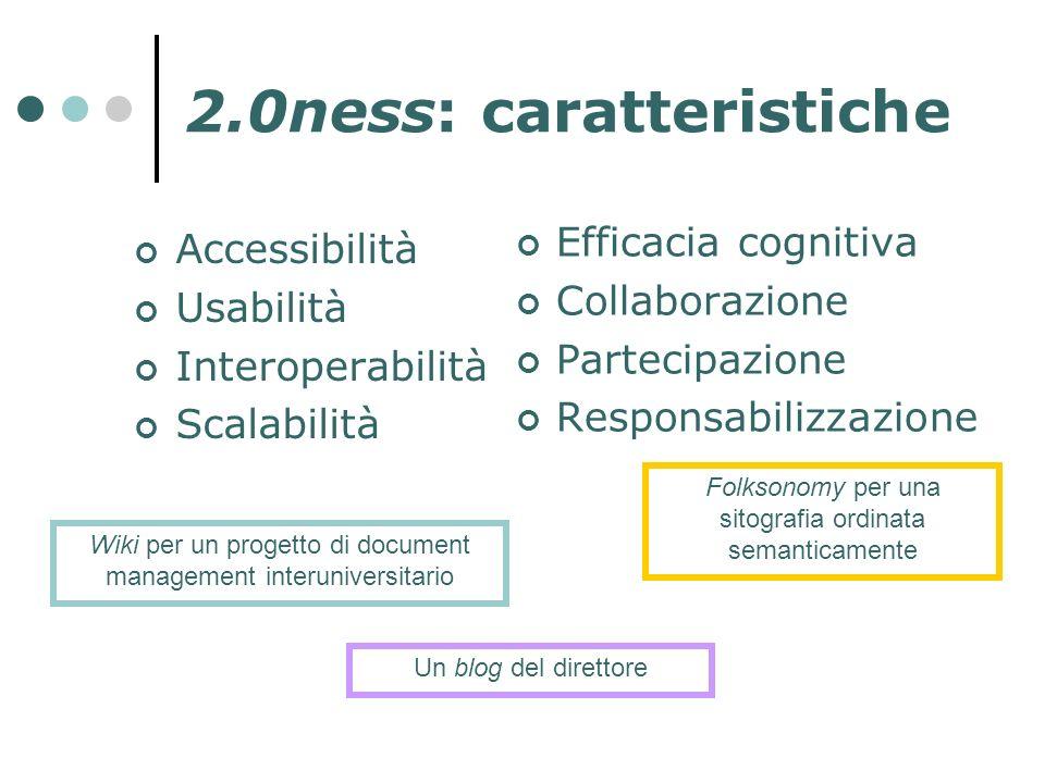 2.0ness: caratteristiche