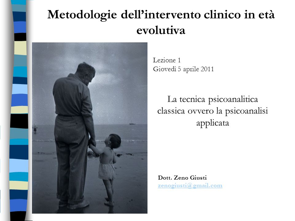Metodologie dell'intervento clinico in età evolutiva
