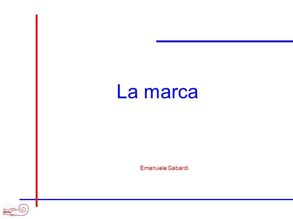 La marca Emanuele Gabardi
