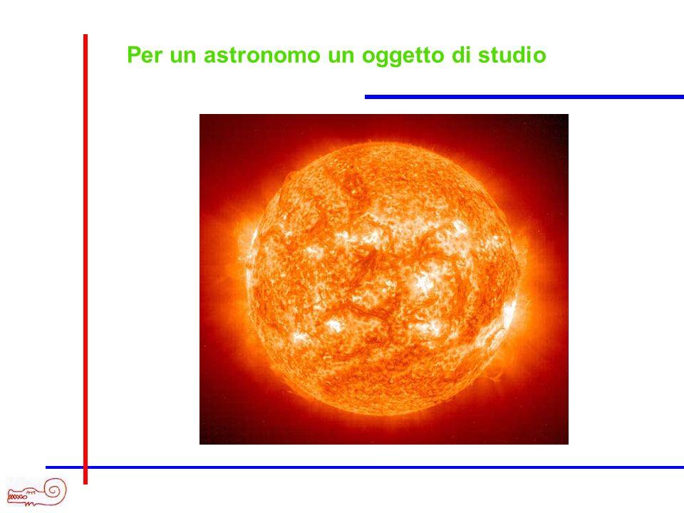 Per un astronomo un oggetto di studio