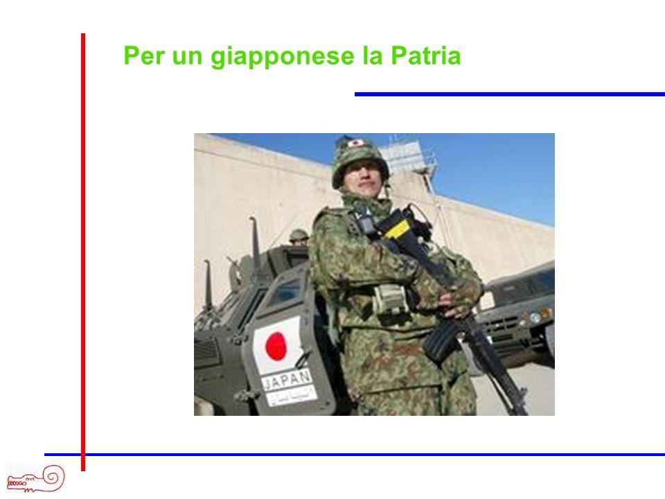 Per un giapponese la Patria