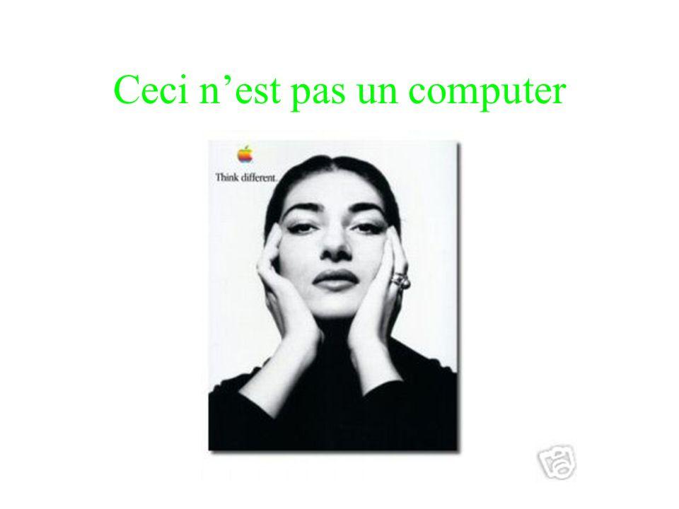 Ceci n'est pas un computer
