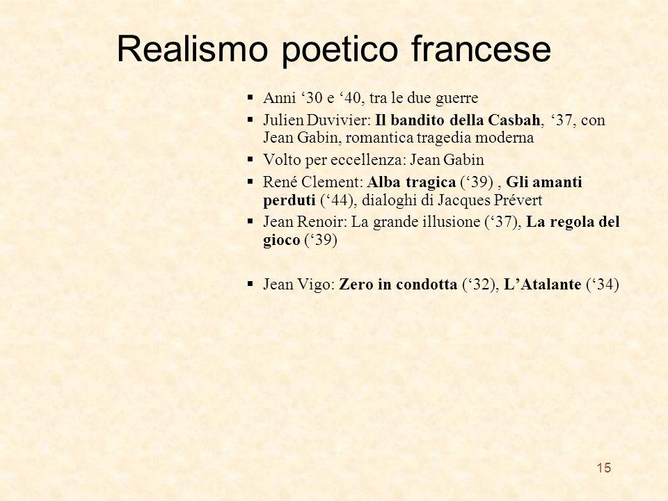 Realismo poetico francese