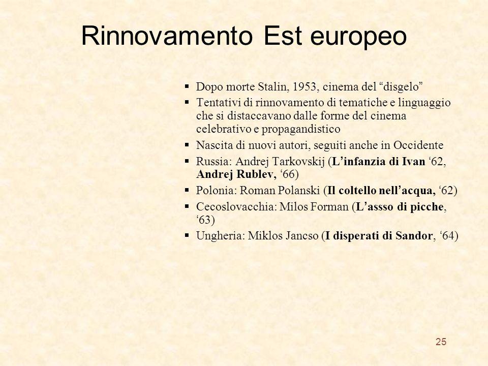Rinnovamento Est europeo