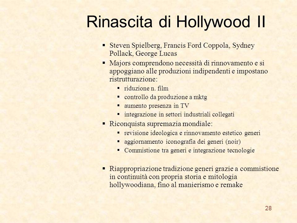 Rinascita di Hollywood II