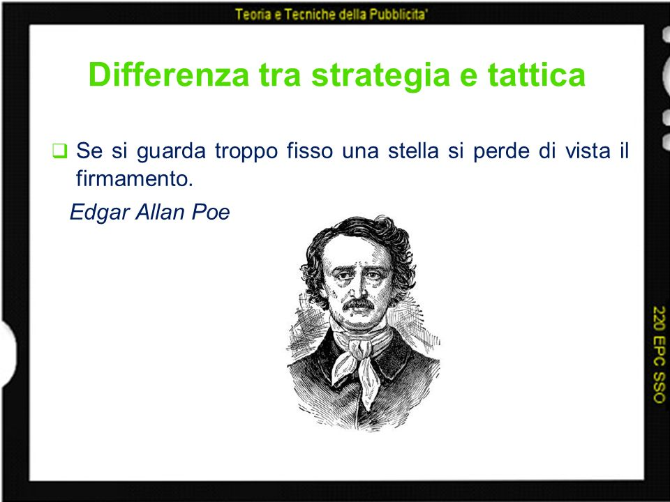 Differenza tra strategia e tattica