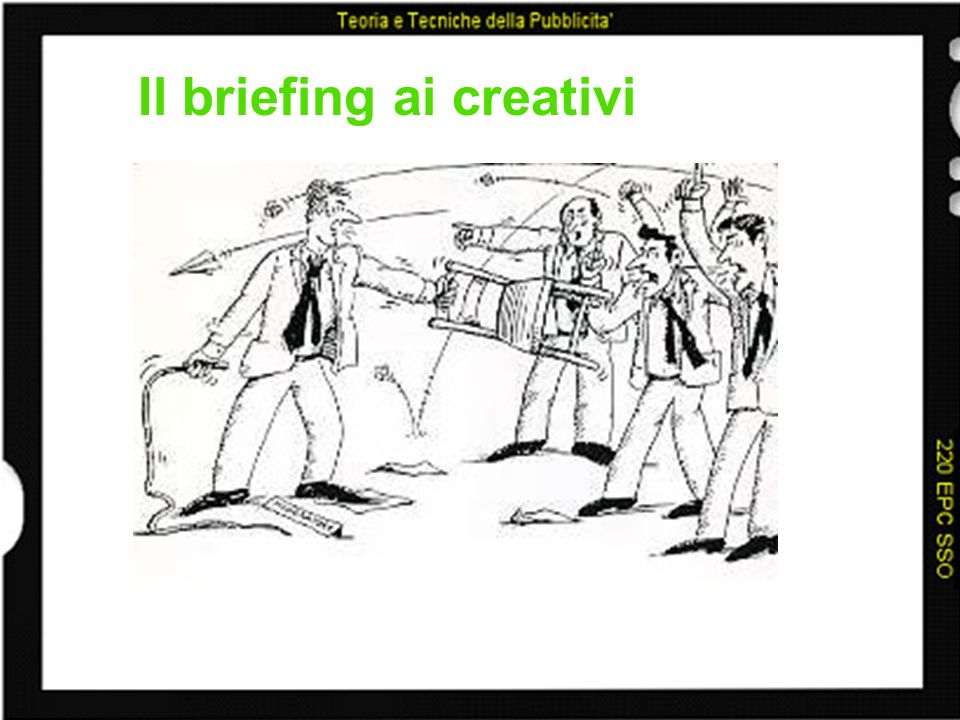 Il briefing ai creativi