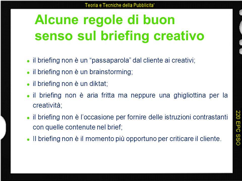 Alcune regole di buon senso sul briefing creativo