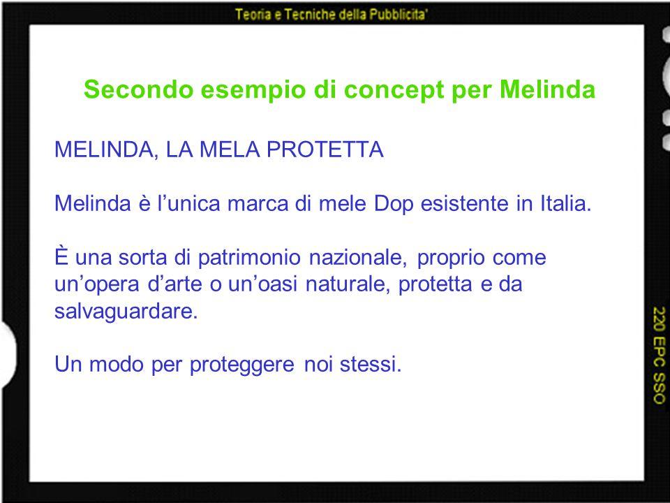 Secondo esempio di concept per Melinda