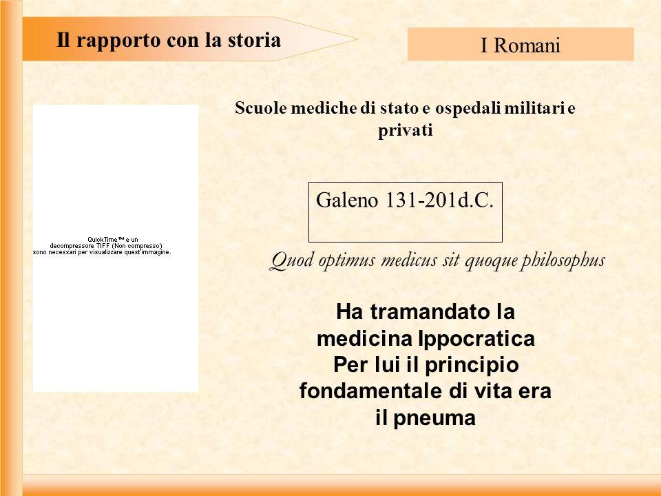 Il rapporto con la storia I Romani
