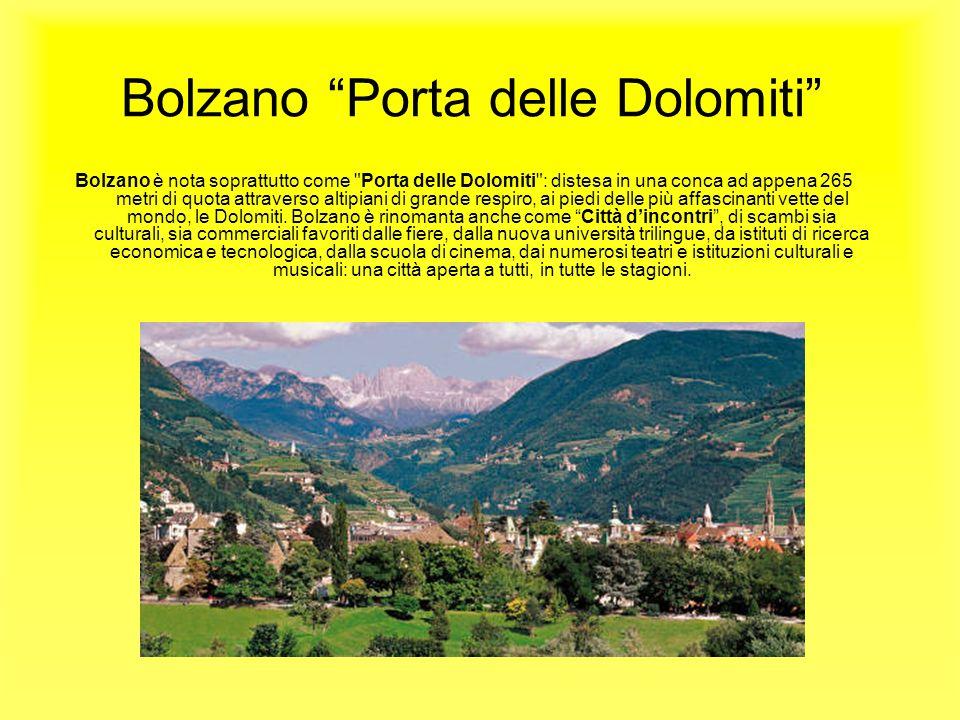 Bolzano Porta delle Dolomiti