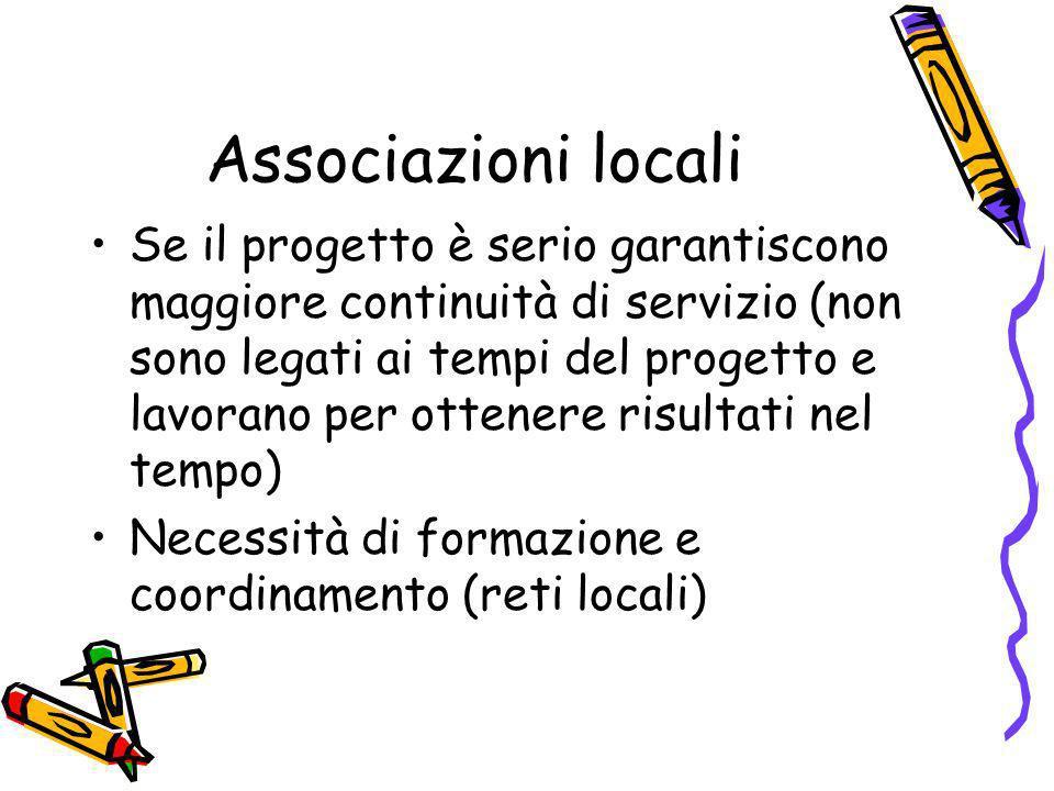Associazioni locali