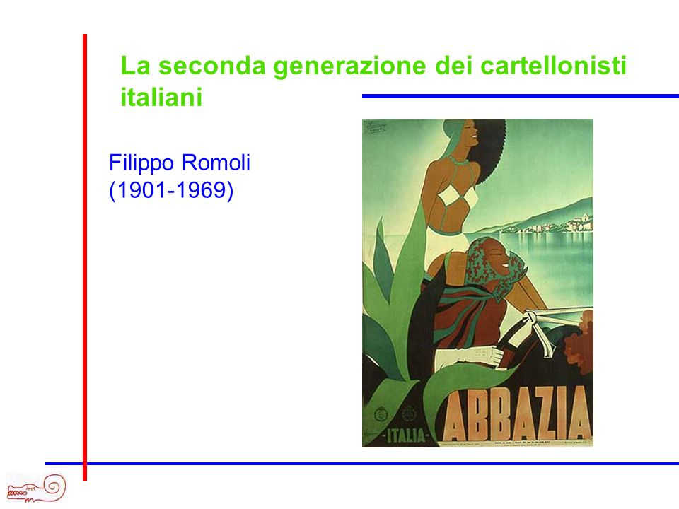 La seconda generazione dei cartellonisti italiani