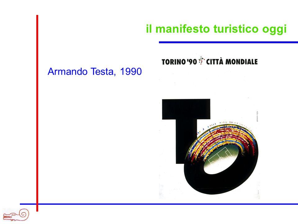 il manifesto turistico oggi