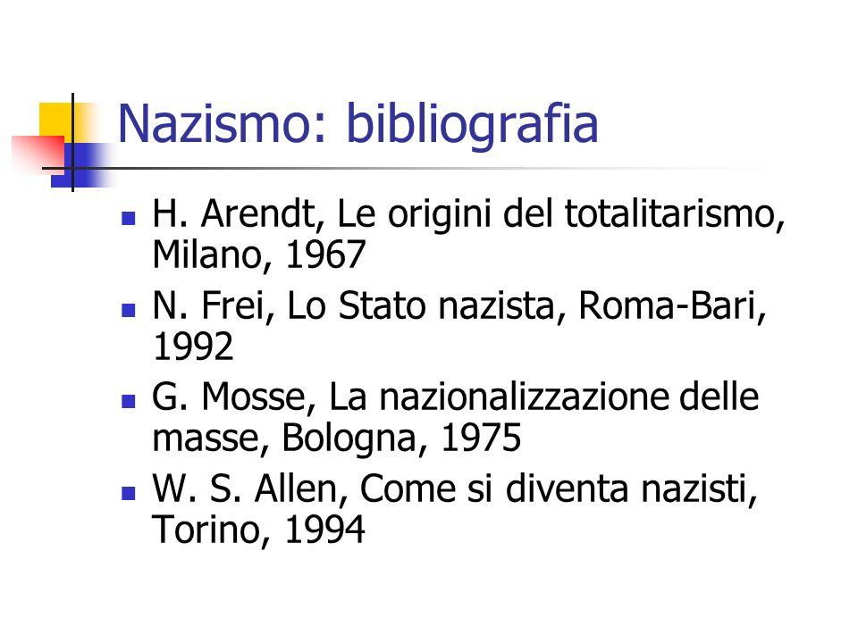 Nazismo: bibliografia