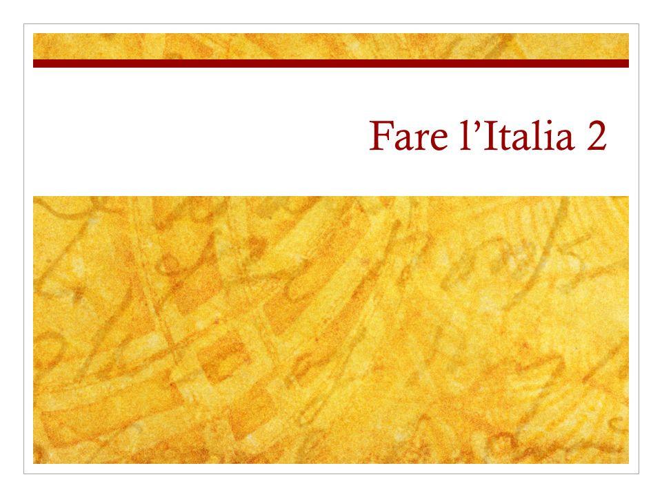 Fare l'Italia 2