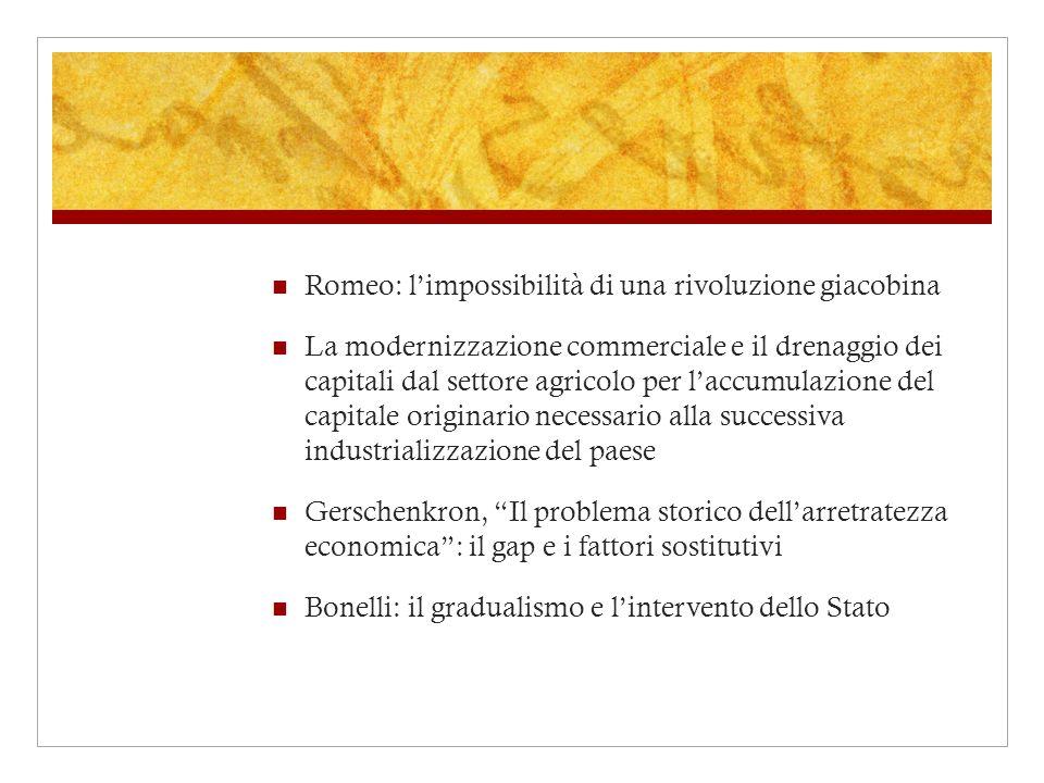 Romeo: l'impossibilità di una rivoluzione giacobina