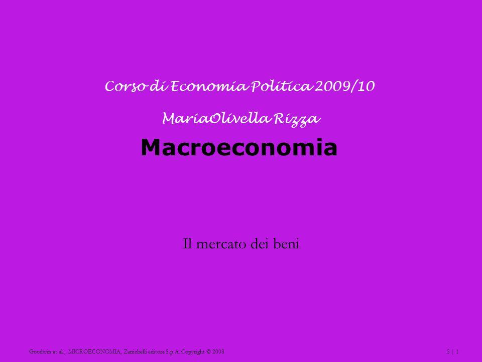 Corso di Economia Politica 2009/10