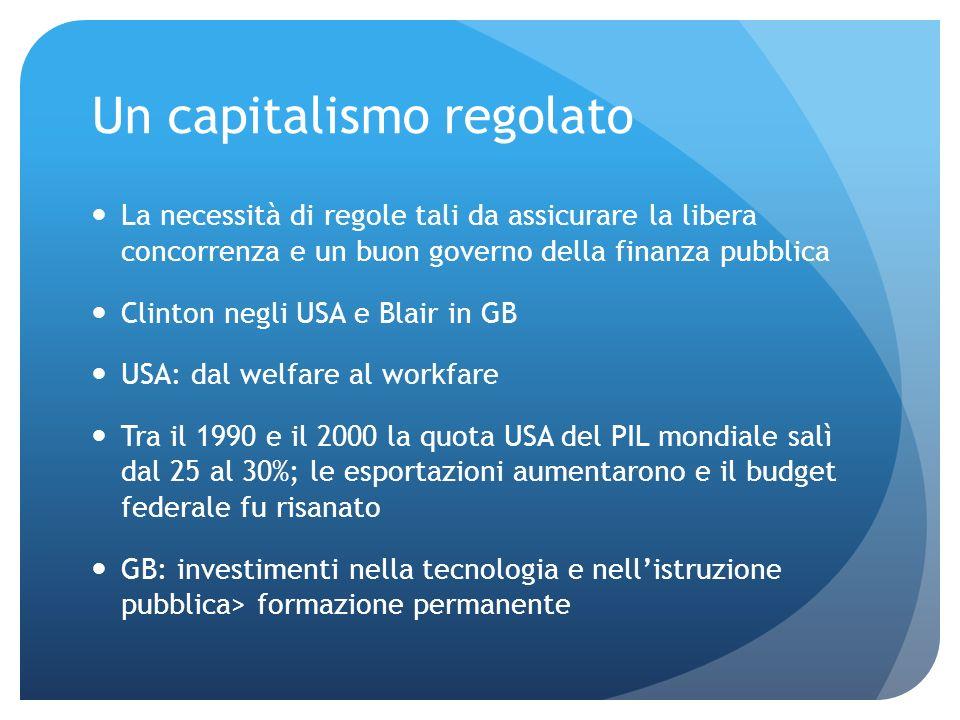 Un capitalismo regolato