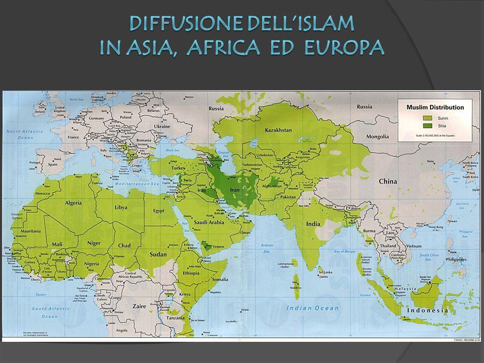 Diffusione dell'Islam in Asia, Africa ed Europa