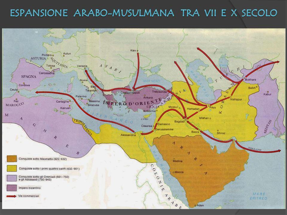 Espansione arabo-musulmana tra VII e X secolo
