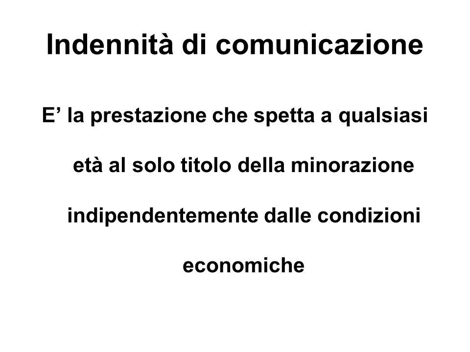 Indennità di comunicazione